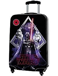Star Wars Equipaje Infantil, 53 Litros, Color Negro