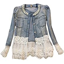 cheaper a033d 7dc27 Amazon.it: Giacca Jeans Donna