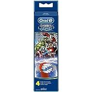 Oral-B Stages Avengers Cabezales de repuesto para niños - Paquete de 4