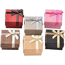 NBEADS Juego de 48 Cajas de Regalo para Boda para Ocasiones Especiales con Cubo de Color