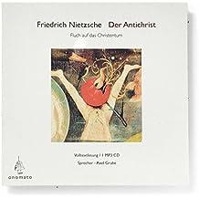 Der Antichrist / Dionysos Dithyramben. Volltextlesung von Axel Grube, 1 mp3-CD in handgefertigter Papphülle (Bibliophile Hörbuch-Edition)