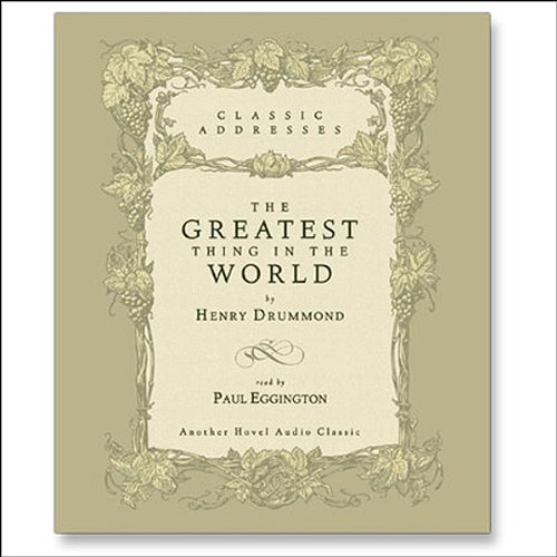 Greatest Thing in the World  Audiolibri