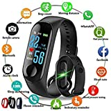 M3 Bluetooth Fitness Smart Health Band/Smart Fitness Band Compatible for All Device