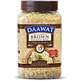 Daawat Brown Basmati Rice Jar, 1kg