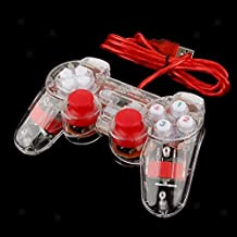 Tradico® 2pcs Wired USB Gamepad Controller Joystick Plug And Play For PC Computer