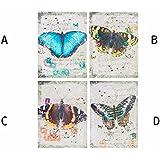Cuadro lienzo modelo mariposa (30x40x1,5) - D
