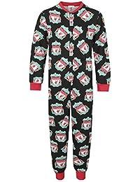 Liverpool FC - Pijama de una pieza para niños - Producto oficial