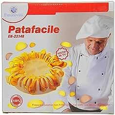 euronovitàà EN-23148 - Patatas Fritas Patafacile Color Blanco, ...
