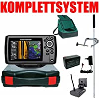 Humminbird Echolot GPS Portabel Master Plus Helix 5 Chirp GPS SI G2 Side Imaging