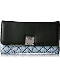 GUESS Rochelle Denim Slim Clutch Wallet