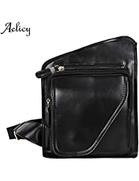 Buyworld Aelicy 2018 Men Messenger Bags Men's Bags Chest Pack Sling Chest Shoulder Bags Black Crossbody Bags For...