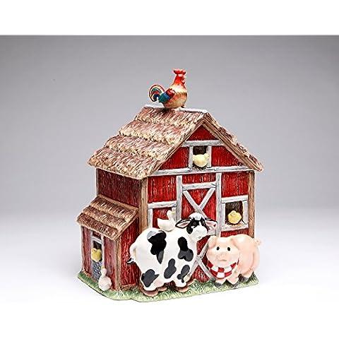 Appletree Design Barn Yard Cookie Jar by Appletree Design