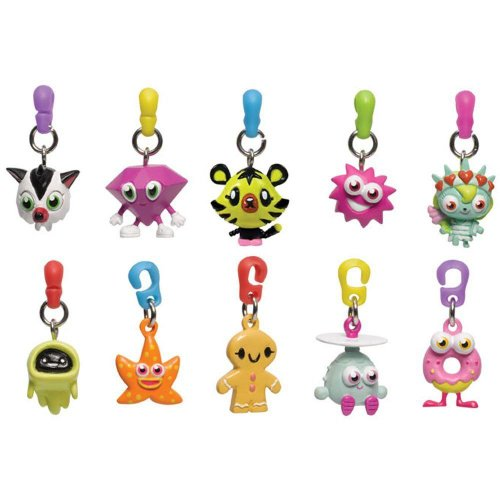 Moshi Monsters Zippsters Zipper Pulls *ONE SUPPLIED COLOUR & STYLE MAY VARY*