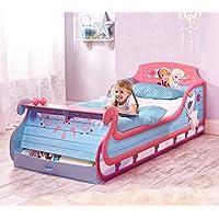 Preisvergleich für Disney Die Eiskönigin Schlittenbett Frozen Bett Kinderbett Mädchenbett