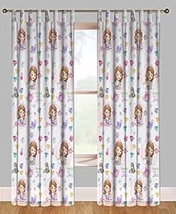 Disney Princesse Sofia - Semitransparent Rideau Pour Chambre a coucher (1 panneau)