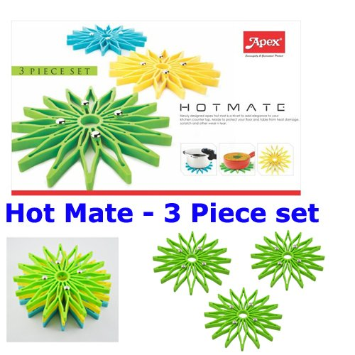 A To Z Sales ( Apex ) HOT MATE - 3 Piece Set - Color may vary.