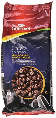 Gourmet - Café en grano - Descafeinado, tueste natural - 1 kg