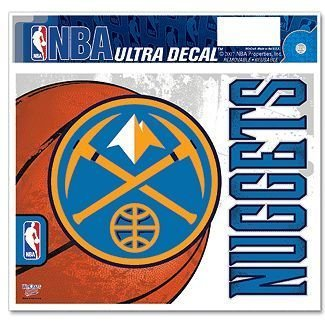 NBA Denver Nuggets Multi-Use Colored Decal, 5