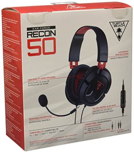 bb8e7ade327 ... Turtle Beach EAR FORCE Recon 50X Over-the-Ear Wired Gaming Headset ·  Turtle ...