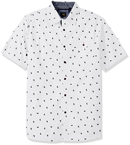 Lee Herren Big and Tall Marlin Shirt - Weiß - Groß -