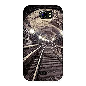 Enticing Track in Tunnel Back Case Cover for Micromax Canvas 2 A110
