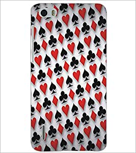 HUAWEI HONOR 6 CARD PATTERN Designer Back Cover Case By PRINTSWAG