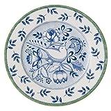 Villeroy & Boch Switch 3 Cordoba Frühstücksteller, aus ansprechendem Hartporzellan, 21 cm Teller, Porzellan, Blau