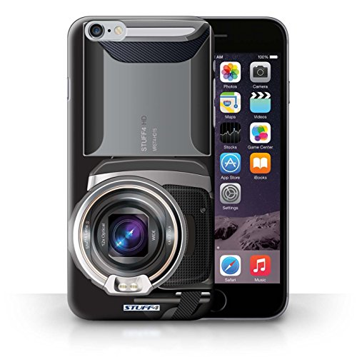 Kobalt® Imprimé Etui / Coque pour iPhone 6+/Plus 5.5 / Caméscope conception / Série Appareil Photo Caméscope