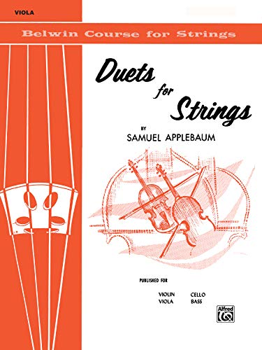 Duets for Strings for Viola, Book I PDF Books