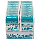 Best Chewing Gums - Happydent Wave, Liquid Filled Chewing Gum, Peppermint Flavour Review