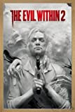 The Evil Within 2 Poster Key Art (66x96,5 cm) gerahmt in: Rahmen Eiche