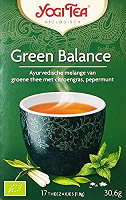Yogi Tea Équilibre du Thé Vert 17 Sachets
