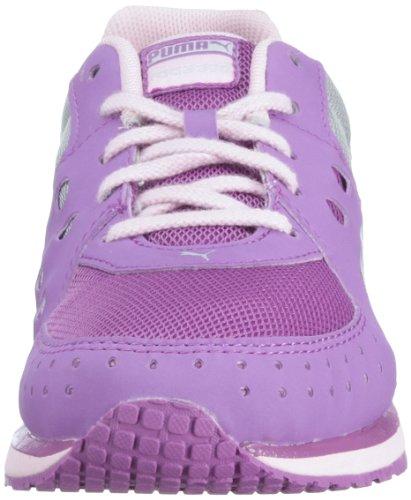 Puma  FAAS 300 JR, chaussures de sport - course à pied mixte enfant Violet - Violett (dewberry-pink lady-puma silver 04)
