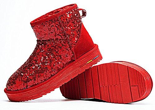 LifeWheel , Bottes de Neige femme red