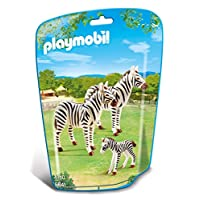 Playmobil 6641 City Life Zoo Zebra Family(multi-color)