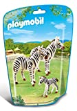 Playmobil 6641 City Life Zoo Zebra Family(multi Color)