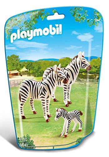 Playmobil-6641 Zoo Familia de cebras