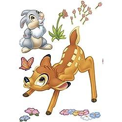 Komar 14043h Disney Bambi Freestyle Sticker Deco-Multicolore (17pièces)