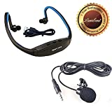 #9: Lambent W200 Sports MP3 Player with Wireless FM and Micro SD Card Slot With Free Clip On Mini Lapel Lavalier Mic Microphone For PC Notebook Laptop Youtube Lecture Teaching Chatting With 3.5 mm Jack(Assorted Color)