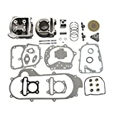 GOOFIT Big Bore Zylinder Kit GY6 50cc 139QMB Racing Scooter Parts 50mm Bore