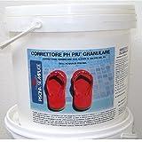 Lapi - 25 Kg Correttore Ph Più Granulare. Per Regolare I Valori Di Ph Troppo Bassi dell'acqua piscina. Prodotto da azienda Italiana certificata