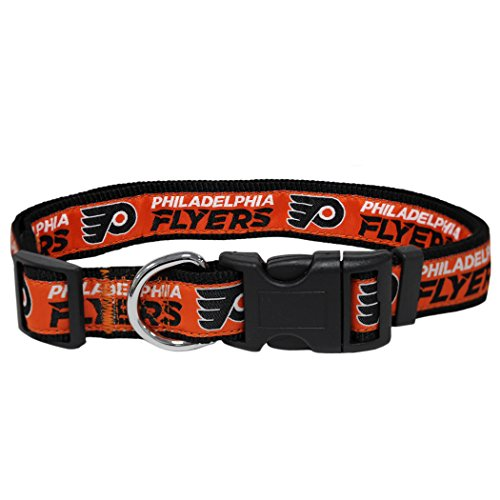 Pets Erste fly-3036-lg Philadelphia Flyers Halsband, groß (Flyer Flys)