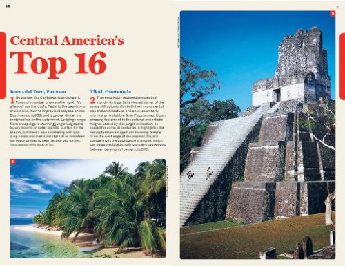 Central America on a Shoestring 8 (Country Regional Guides)