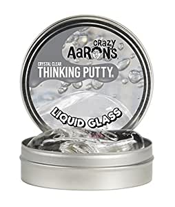 Crazy Aaron's Large Thinking Putty - Crystal Clear Liquid Glass