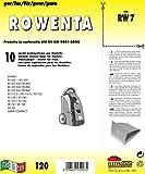 RW 7 sacchetti per aspirapolvere confezione da 10 sacchi carta
