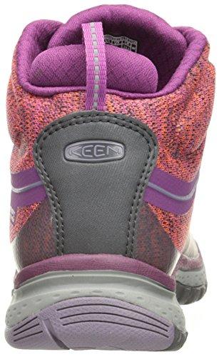 Keen Terradora Mid WP - Chaussures Femme - gris/marron 2017 Dark Purple Purple Sage