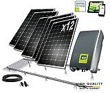 DSP Solar - Kit fotovoltaico per autoconsumo, 3.000W, a perdita zero