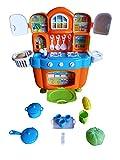 Spielzeug Puppenküche, A151, mit Zubehörteilen, für die kleine Puppenmutti, mit tollen Sound-Effekten, Geschenk-idee für Jungen und Mädchen für Weihnachten und zum Geburtstag, Geburtstags-Geschenk