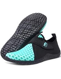 JIASUQI Antideslizante clásico Antideslizante Zapatos de Piel de Agua Calcetines de Aqua para el Ejercicio de