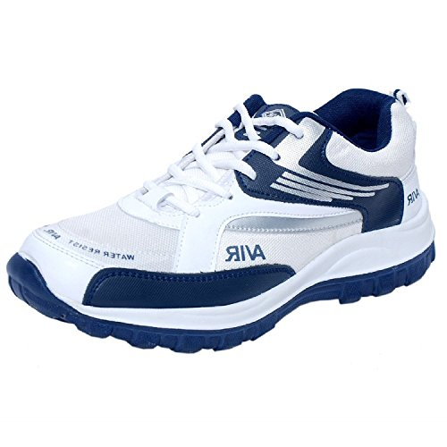Corpus Men'S Density Navy Blue Leather Running Shoes-7  available at amazon for Rs.498